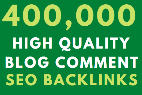 400k GSA blog comment High Authority Backlink on google Ranking