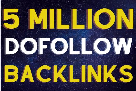 5M SEO powerful gsa backlinks to blast your website
