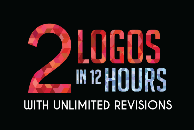 I Will Design 1 or 2 Logo Professionally Within 12 Hours