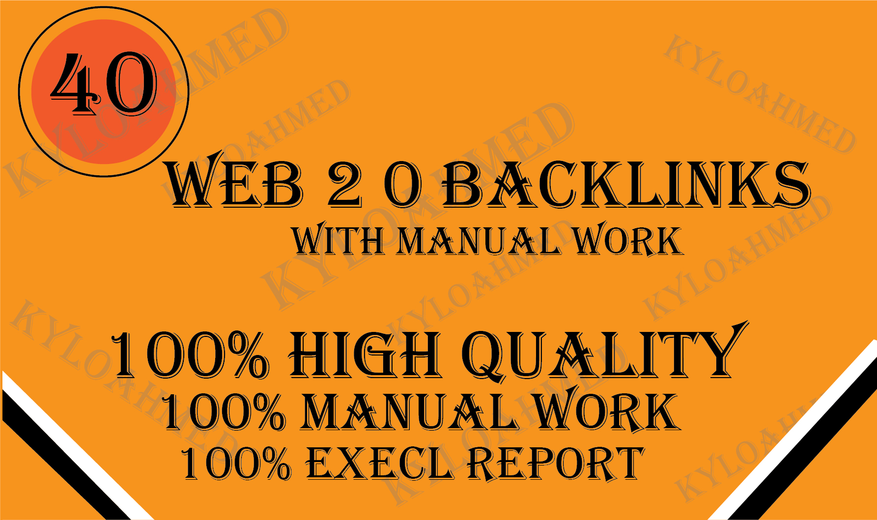 I will build 20 manually web 2.0 backlinks