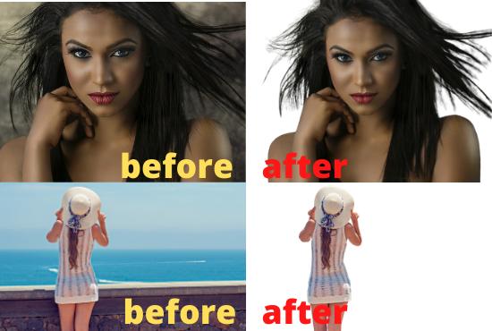 I will do remove background 60 photos
