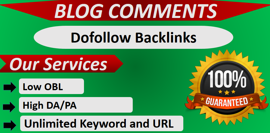 Manually do 100 powerful do-follow blog comment on high-quality websites