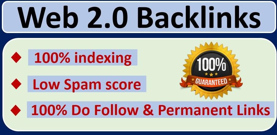 I will Provide 10+ do follow web2.0 backlinks
