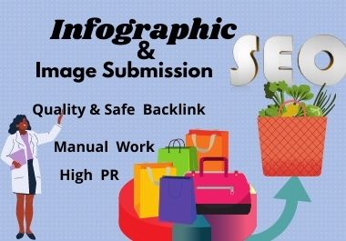 20 Infographic submission on high DA & PA sharing sites permanent backlinks quality link building