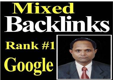 Manual 30 Mixed Backlinks permanent high Domain Authority link building must rank your website
