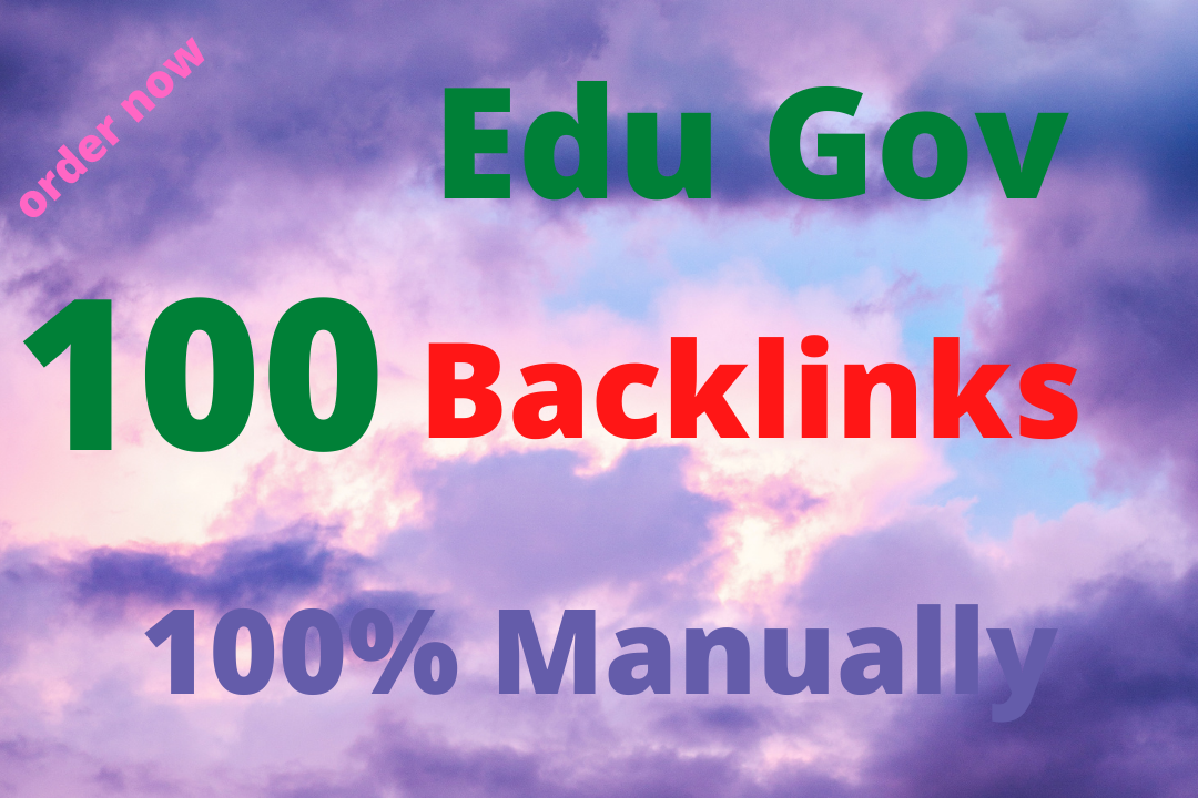 I will create 100 Strong and Safety Edu Gov Backlinks in 4 days.