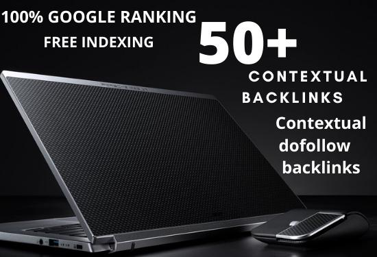 I will do 50 contextual backlinks