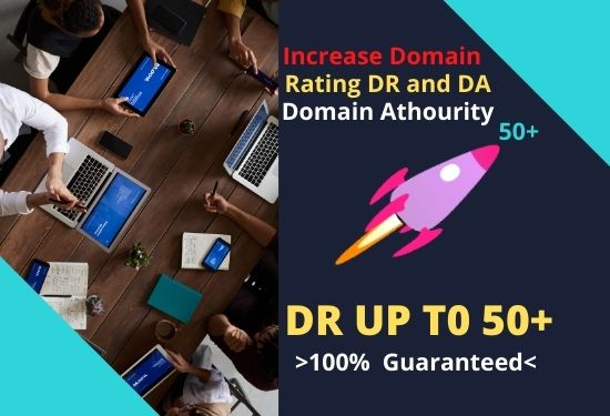i will increase your dr domain rating da domain athourity