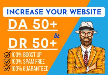 I can increase Moz DA and Ahrefs DR upto 50 from any point.