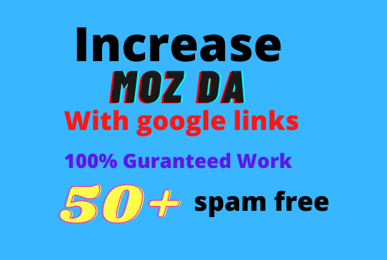 MOZ DA Domain Authority Increase.
