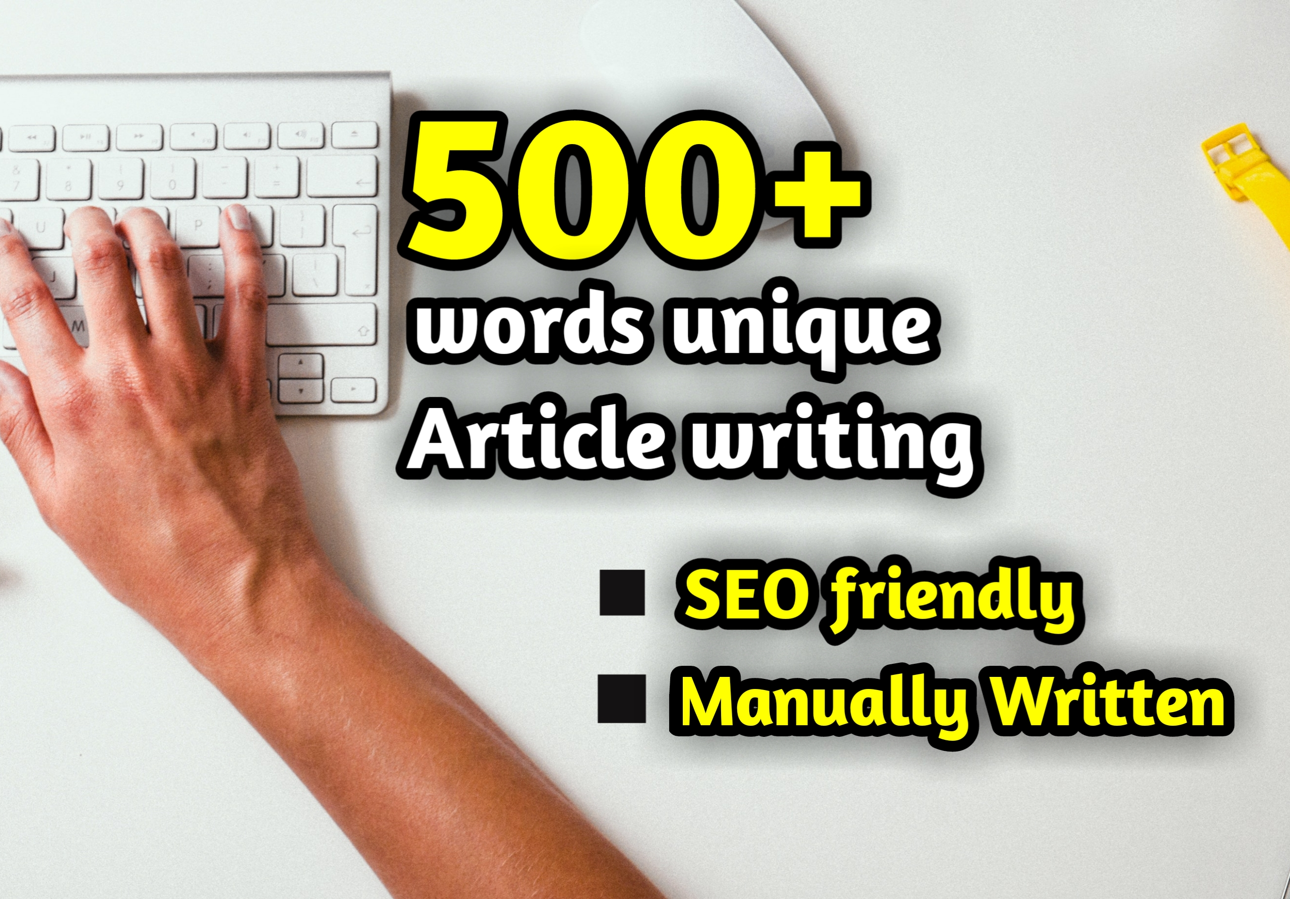 500 words SEO friendly Article writing,  Content writing & Blog writing