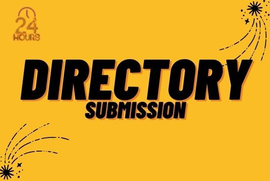 I will submit 100 HQ directory submission to promote website