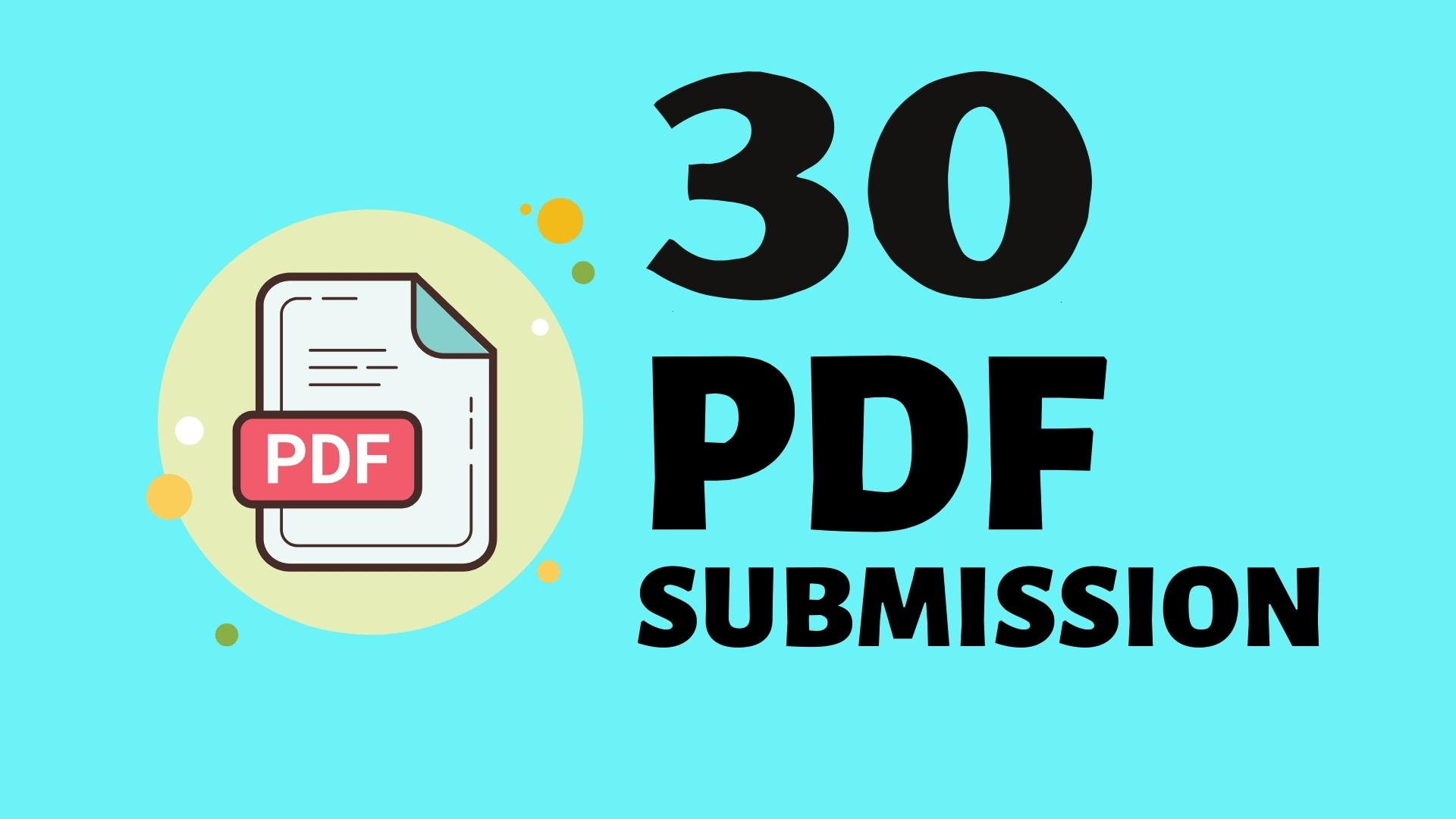 I will do 30 Article or PDF Submission to most popular High Pr9 sites perfect linkbuilding