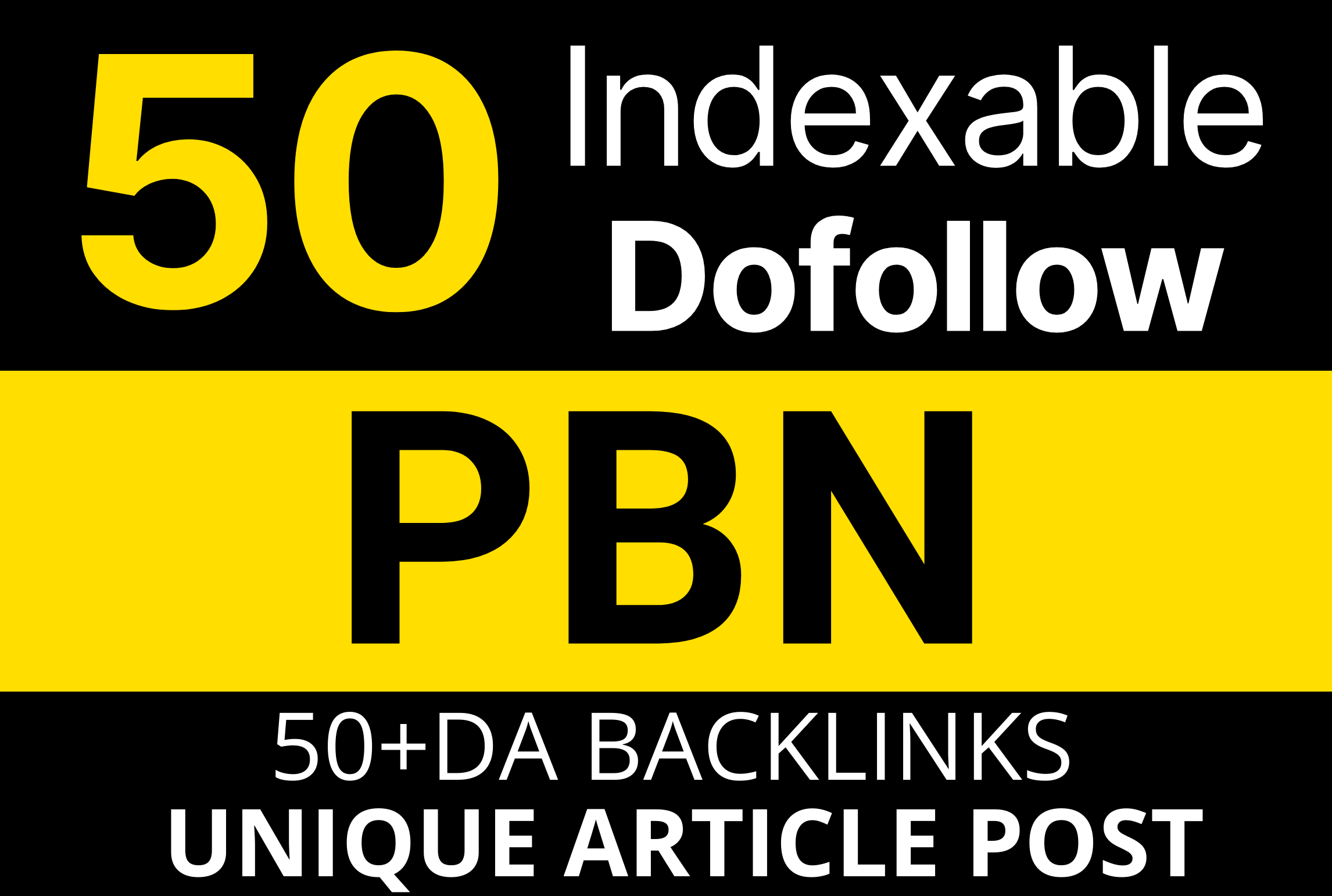 50 DOFOLLOW INDEXABLE PBN POST WITH UNIQUE ARTICLE FOR GOOGLE RANKING