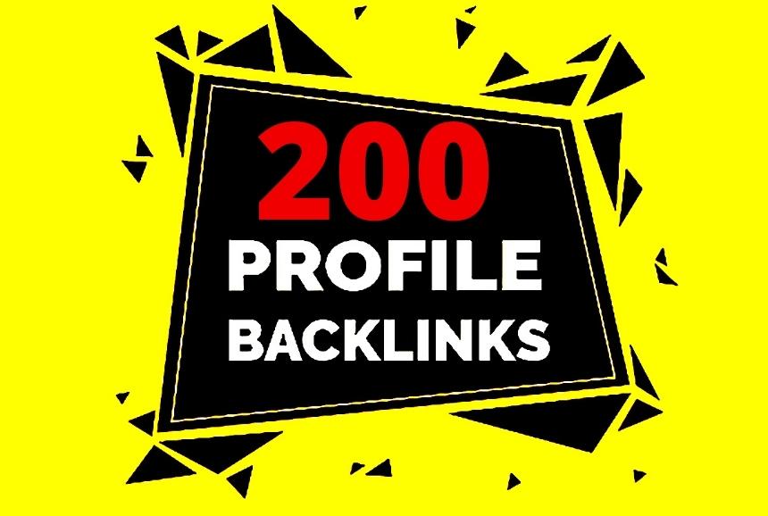 Increase your website's Moz DA PA using 200 Dofollow Profile Backlinks Creation 85+DA PA & PR9