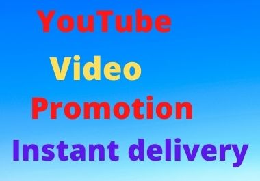 Super fast Youtube video and social media marketing promotion
