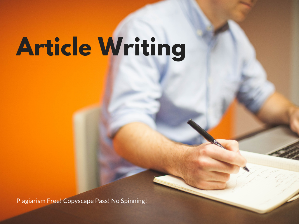 1000 Words Article, Content or Blog Writing on Any Topic