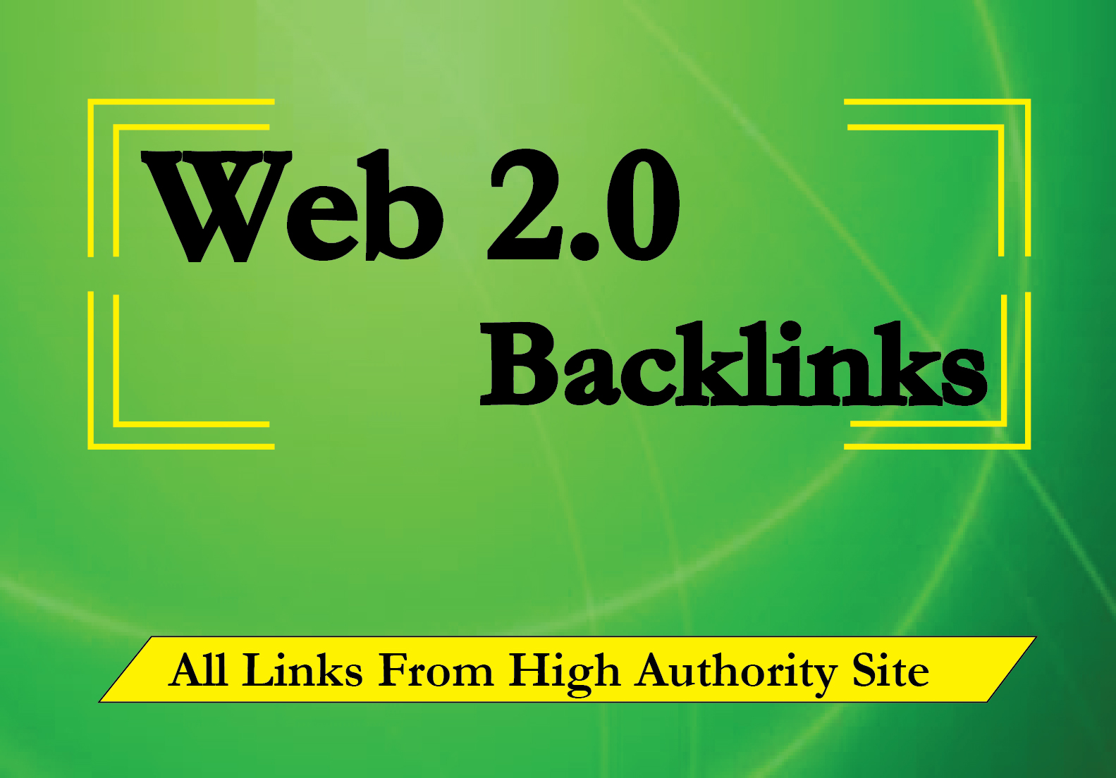 20 High Authority Manual Web 2.0 Backlinks