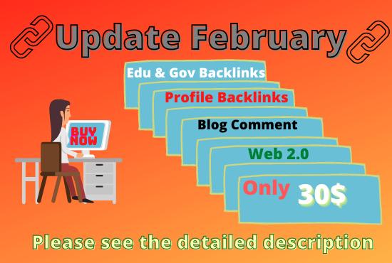 Rank your website special offers Profile Backlinks, WEb 2.0,  Blog comment & Edu Backlinks