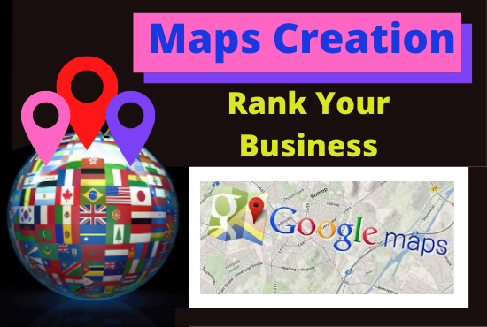 I will manually build 500 point google maps creation to rank your business