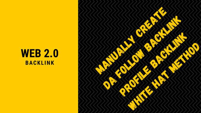 I'll build your blog with high authority do-follow 20 web 2.0 backlinks manually