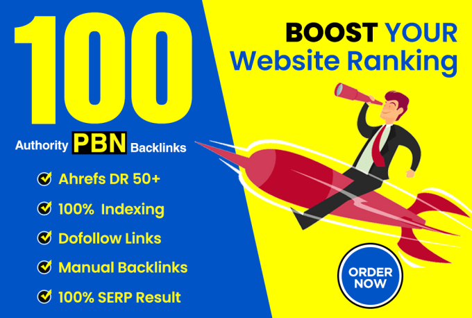 I will build high DR 50 to 70 dofollow backlinks for seo