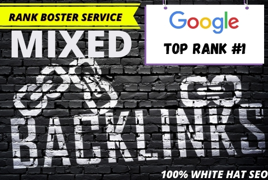 Build high quality 50 permanent mixed backlinks with rank and boost your website