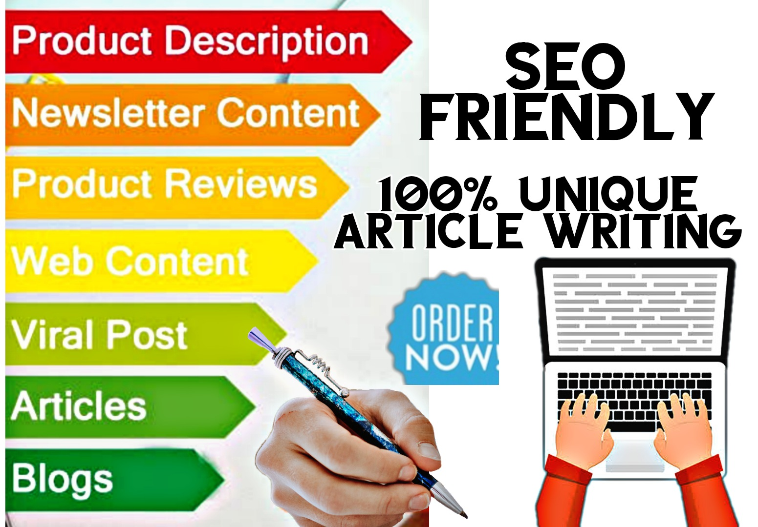 Article writing 2 X 1000 Words High Quality Unique SEO friendly Content/Article For your nishe