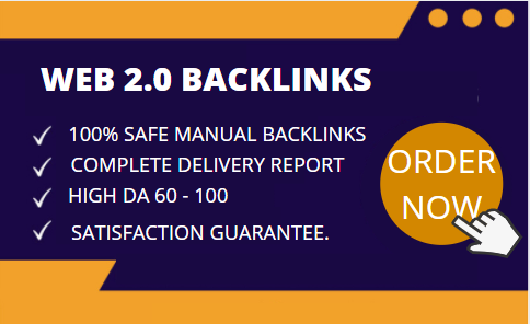 I Will Do 10 Web 2.0 Backlinks Manually With High DA
