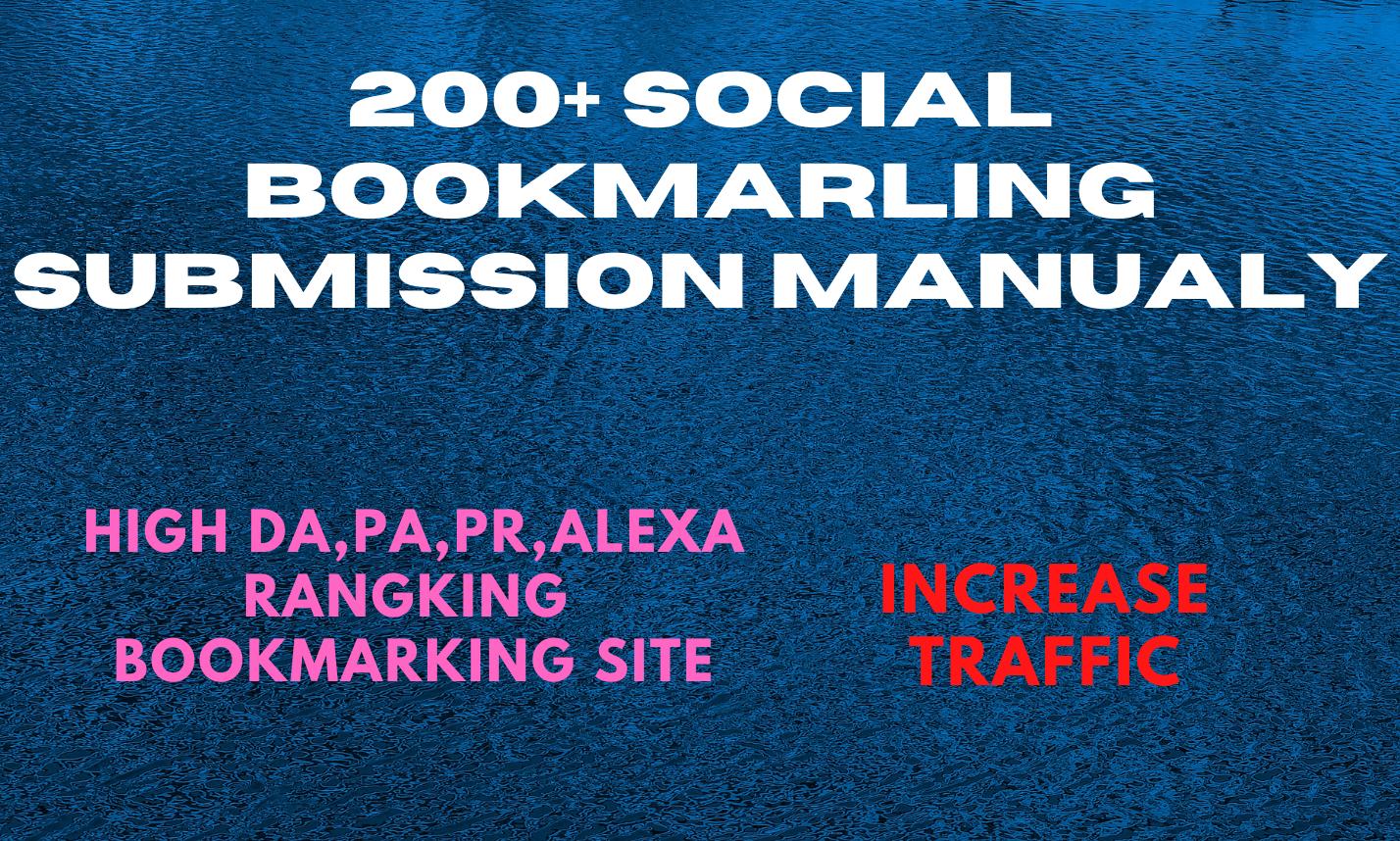Social Bookmarking Your website URL