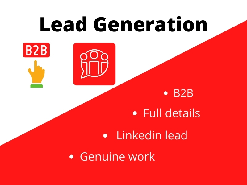 B2B and Linkedin lead generation for business