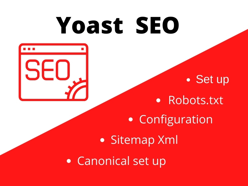 Yoast SEO setup to your site and configure for better result