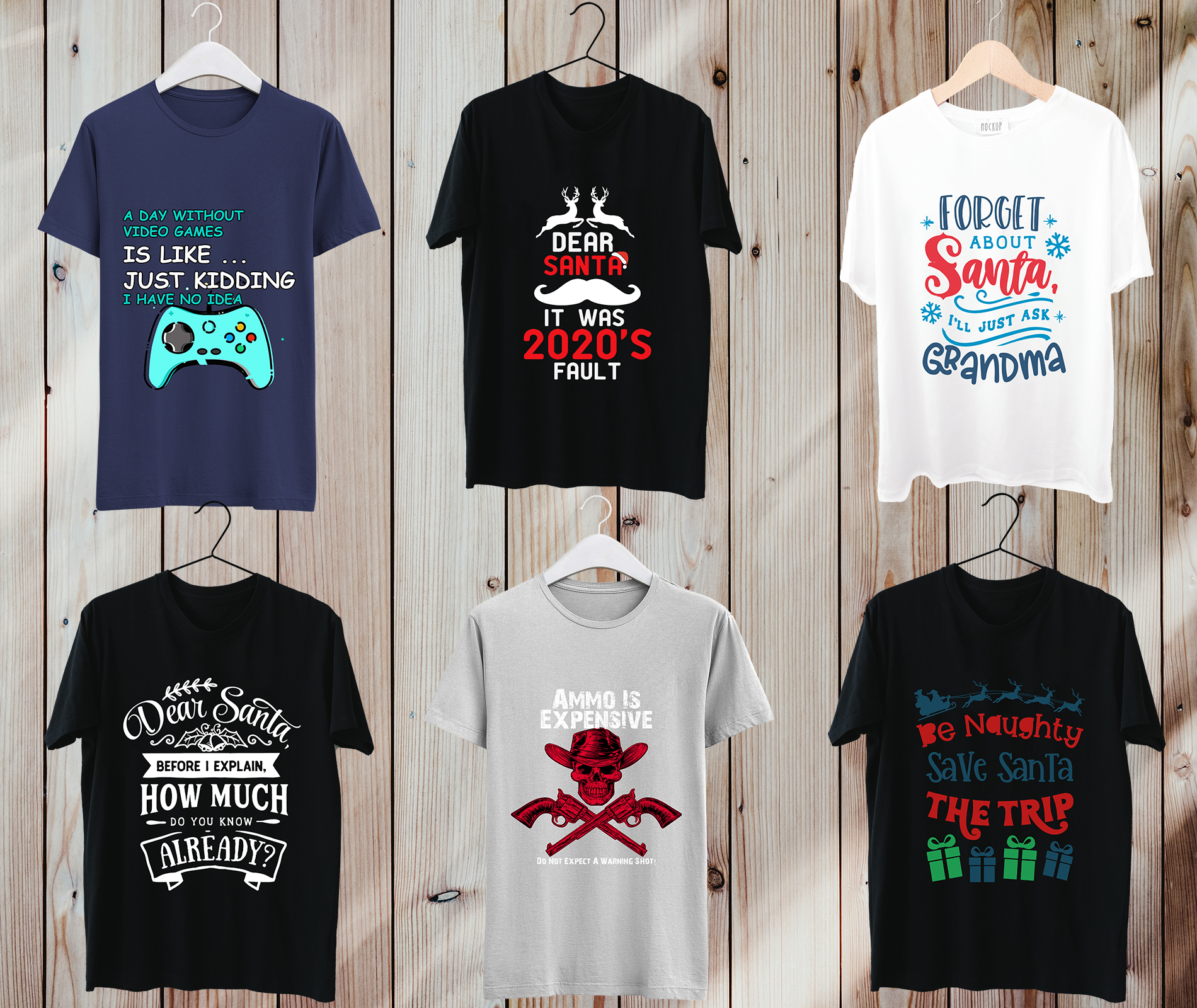 I will create 10 eye catching custom t shirt designs