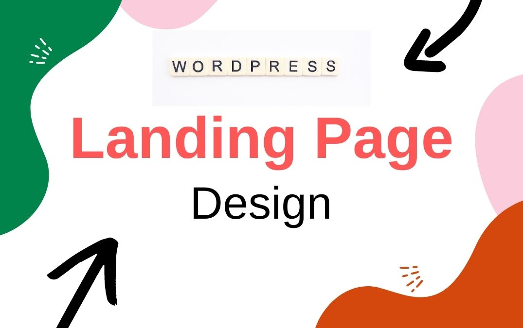 I will design wordpress landing page or squeeze page