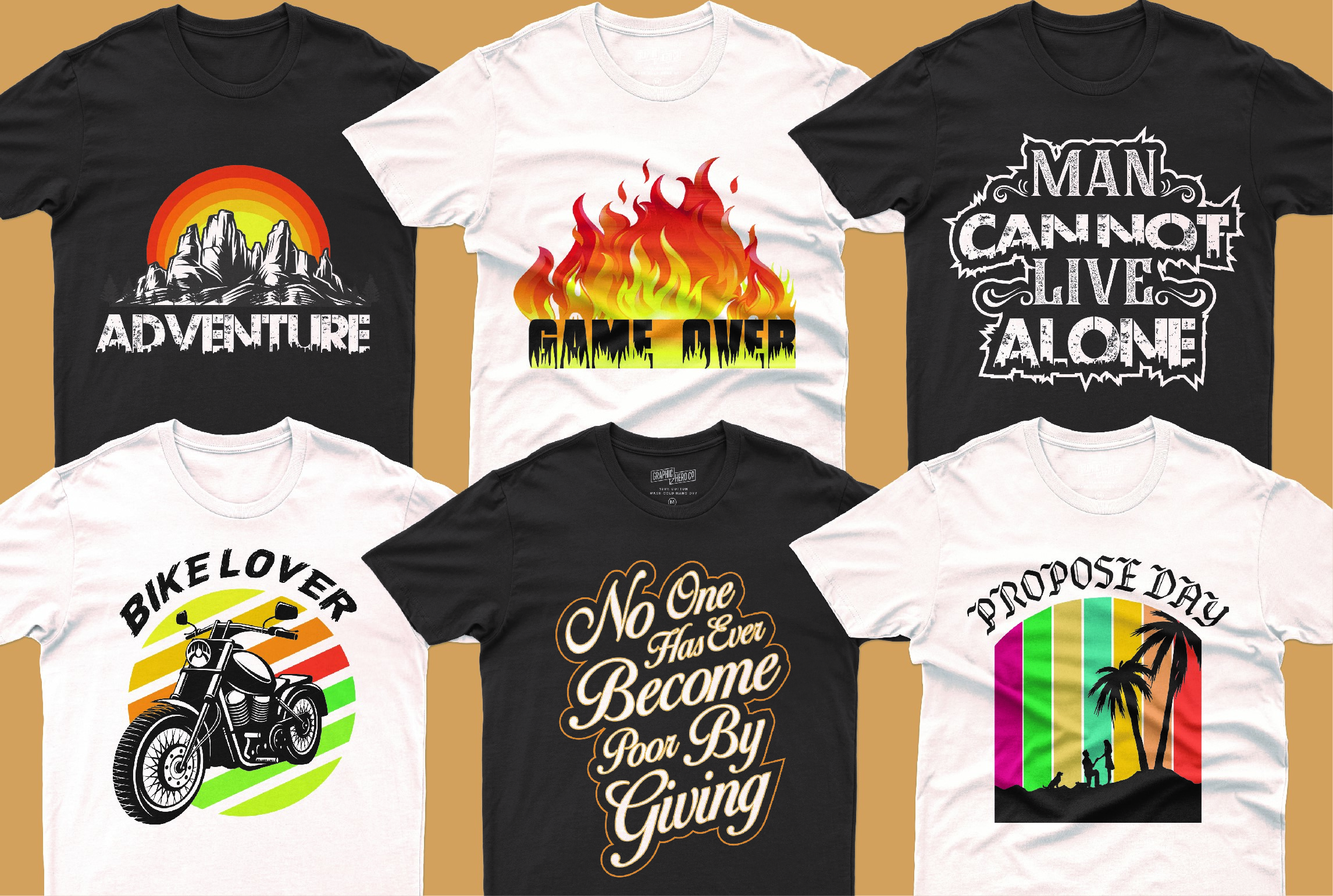 I will do typography,  custom,  eye catching t shirt design for you