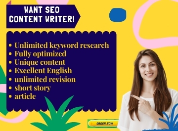 I will be your SEO website content writer or blog content writer.