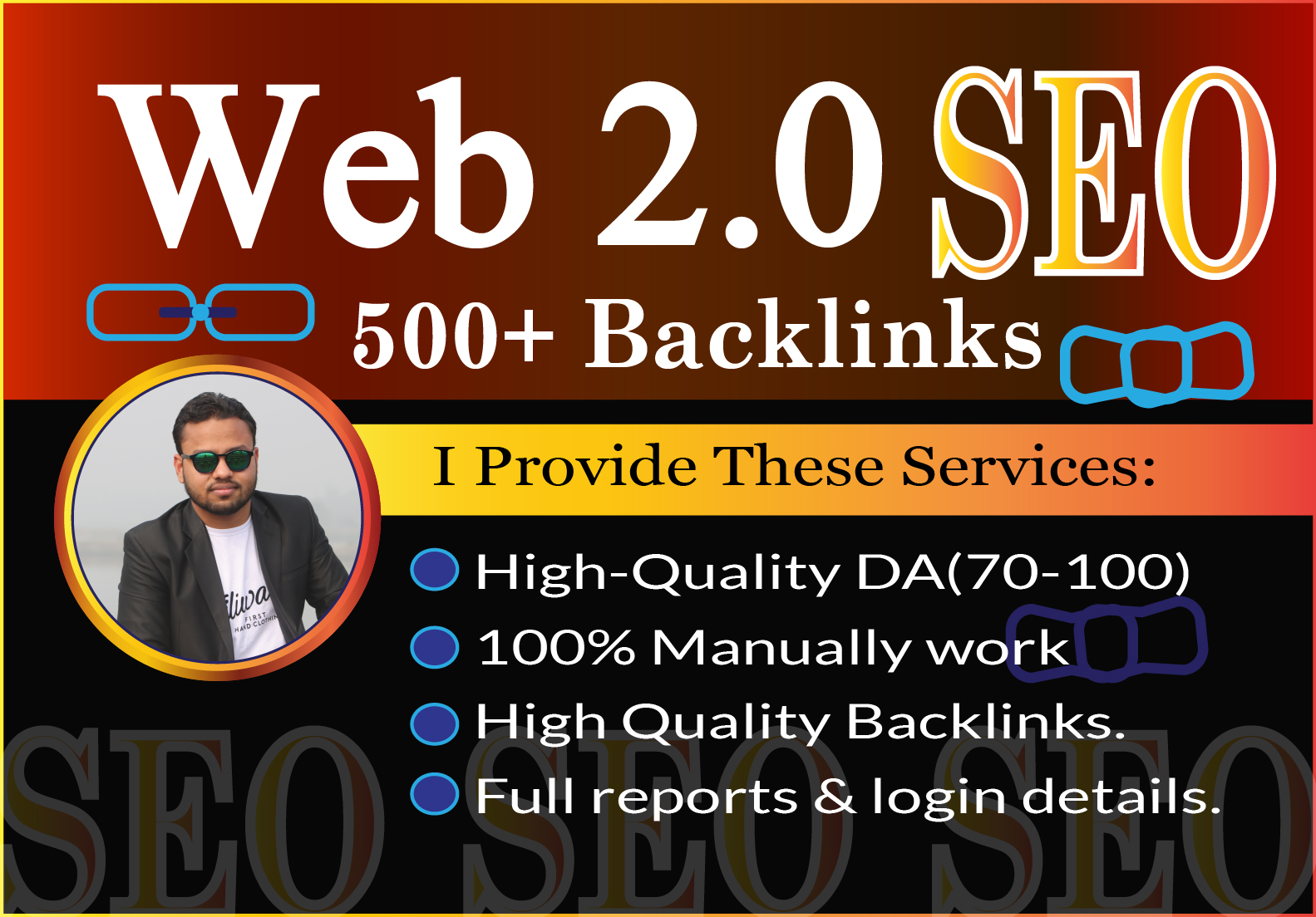 I will create High Quality Web 2.0 Backlinks manually