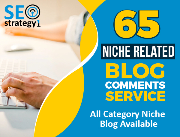 I will Create 65 niche relevant backlinks manually blog comments