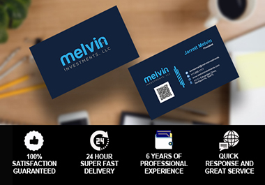 Design professional and creative business card