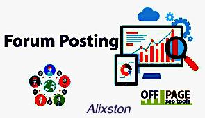manually 55 Forum Posting SEO Backlinks for Google Ranking