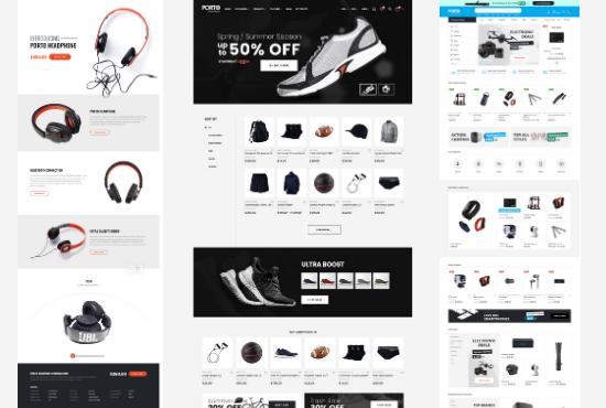 I will create a responsive wordpress woocommerce website or ecommerce store