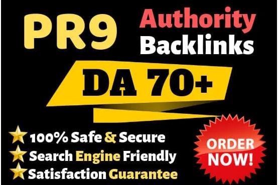 I will Create manually 50 high domain authority SEO profile backlinks