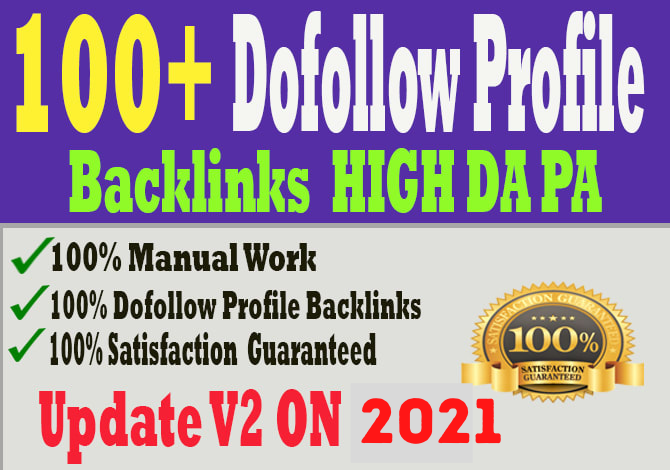 I Will Provide 100 Contextual SEO Dofollow Profile Backlinks For Organic Traffic & High Google Rank