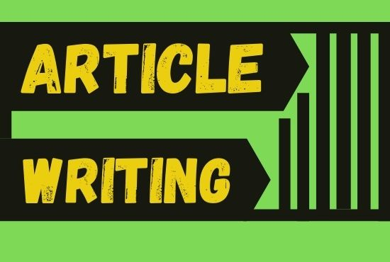 I will write 1200+ words article for you and your brand.