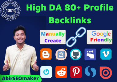 I will do 250 Manually Create Profile Backlinks with Keyword Promotions for Huge Rank Boost