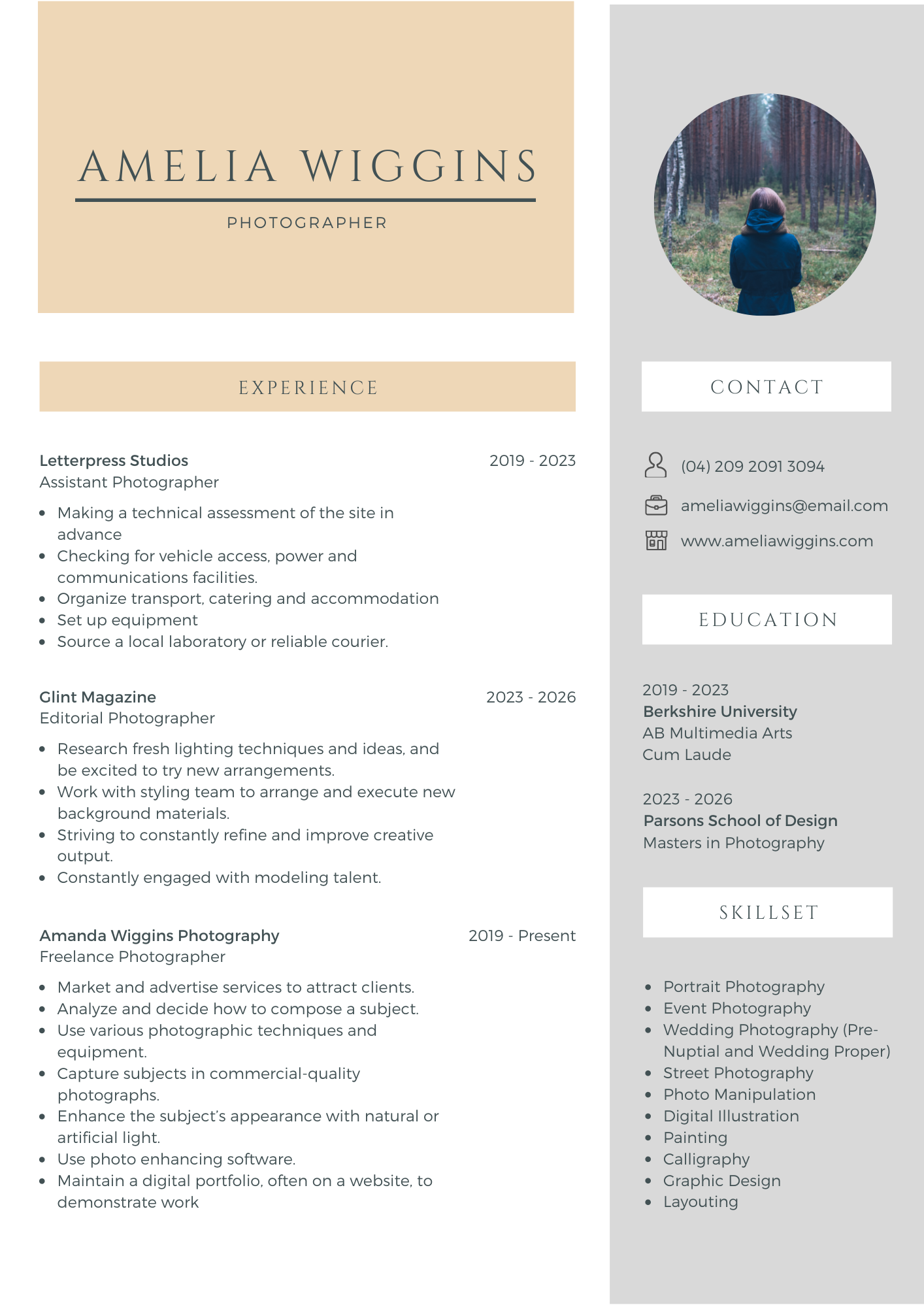 I will provide professional resume writing, CV writing services
