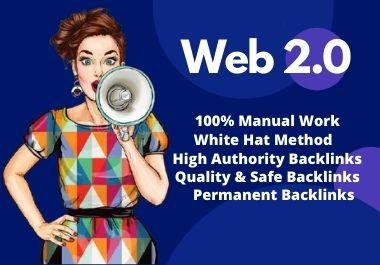 20 High Authority Web 2.0 Blogs Backlinks High DA PA Site for Google Ranks