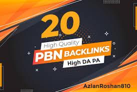 Make 20 Permanent High DA PA Contextual PBN Backlinks