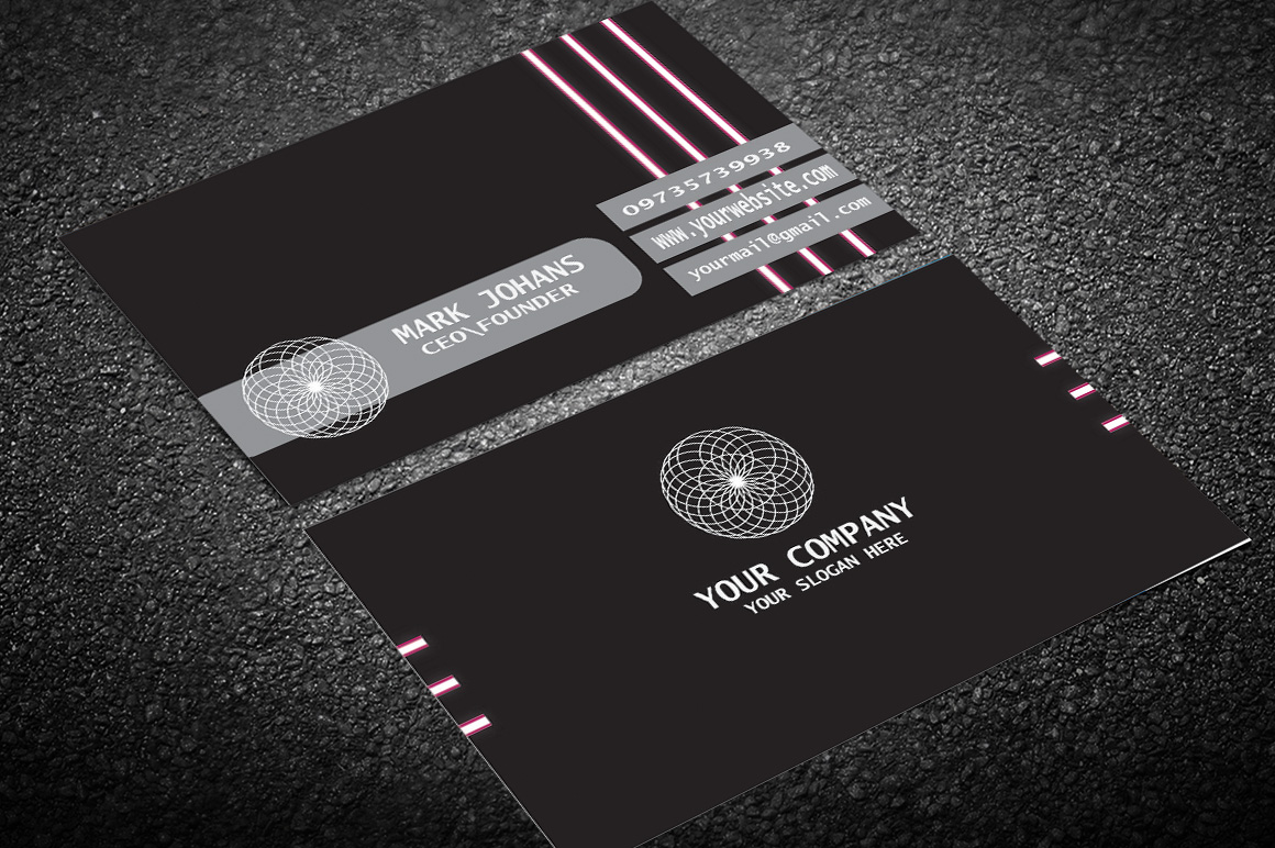 Unique & Luxury Business card design For You