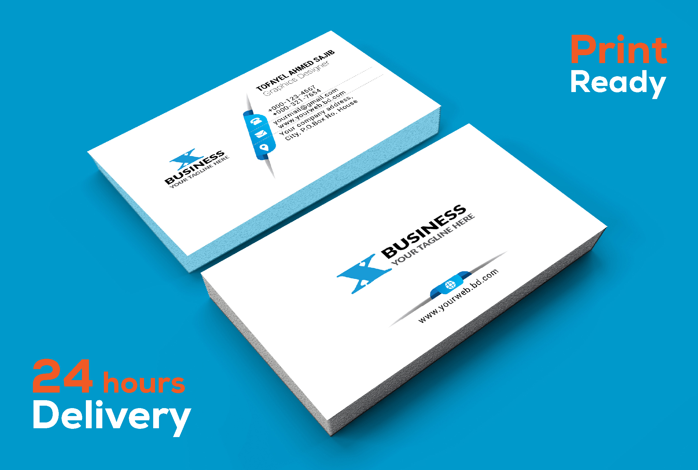 I will design professional & Smart business card